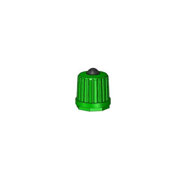 Nylon Cap Green Auto Moto Valves