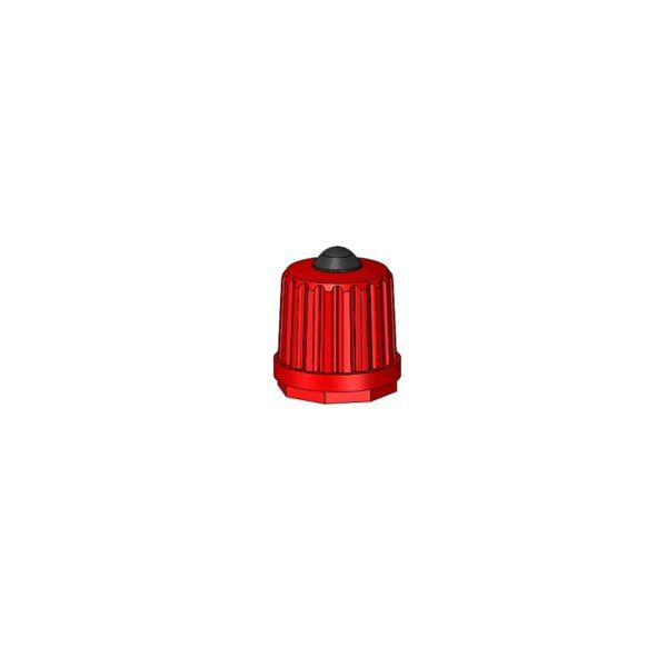 Nylon Cap Red Auto Moto Valves